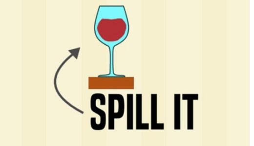 グラスを倒して割るシンプルなゲーム【spill it】が楽しい!